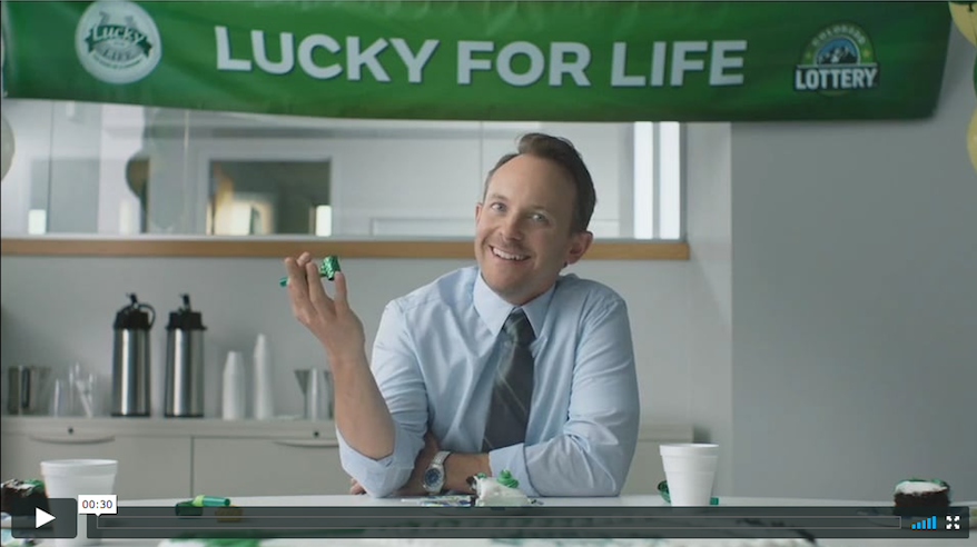 Colorado Lottery – Lucky for Life – 1st spot